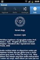 Screenshot of Kurani shqip