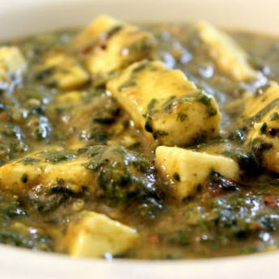 Paneer Spinach Dal