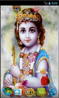 Screenshot of Shree Krishna Live Wallpaper