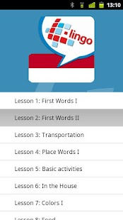 L-Lingo Learn Indonesian Pro - screenshot
