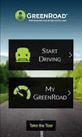 Screenshot of GreenRoad Smartphone Edition