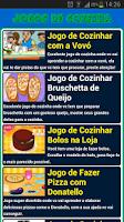 Screenshot of Jogos de Cozinha