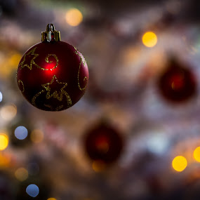 Bauble by Per-Ola Kämpe - Public Holidays Christmas ( lights, bauble, christmas, tinder, glitter, decoration, object )