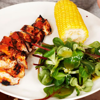 Gwyneth Paltrow's Grilled Chicken with Peach BBQ Sauce