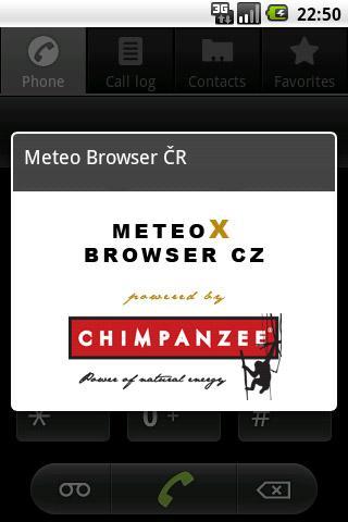 Meteo Browser CZ