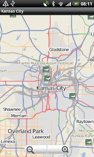 Kansas City Street Map