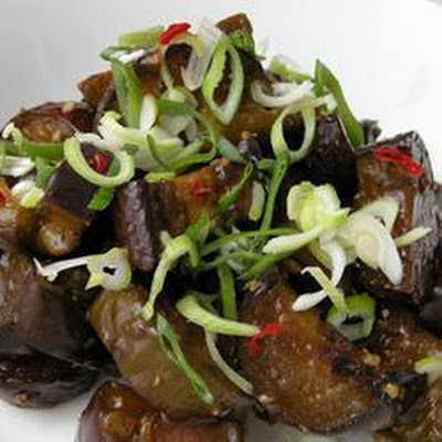 Chinese Aubergines with Garlic