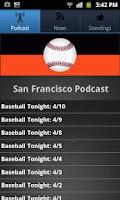 Screenshot of San Francisco Baseball