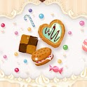Sweets cookie icon