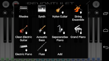 Screenshot of Flute Sound Plugin