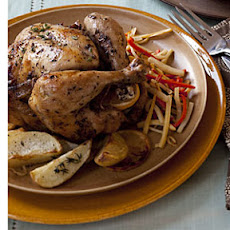 Lemon-and-Sage Roasted Chicken
