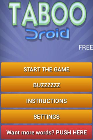 Taboo Game Instructions Download Free Apps Framebackup