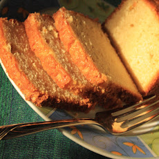 Nannie's Gosh Awful Pound Cake- Lightened
