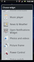 Screenshot of Open Notifications