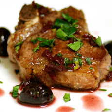 Lamb Chops with Cherry Balsamic Glaze