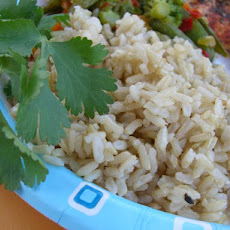 Alton Brown's Baked Brown Rice