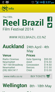 Reel Brazil Film Festival - screenshot