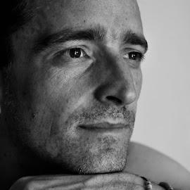 Mike by Pete Klapwijk - People Portraits of Men