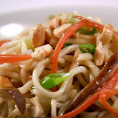 Stir-Fry Noodles with Jalapenos and Peanuts