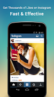 Screenshot of LikeBoost for Instagram