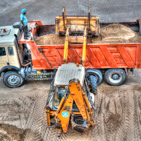 dumptruck by Jigs Crisostomo - Transportation Other ( #tractor, #construction, #dumptruck )