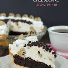 Cookie Dough Cheesecake Brownie Pie