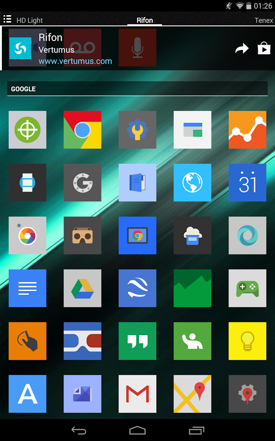 Rifon - Icon Pack Screenshot 12