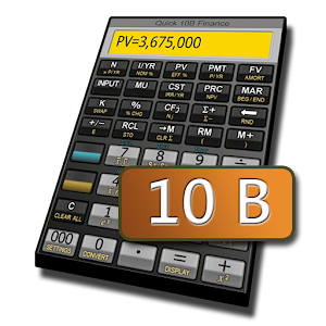 Cover art Quick 10B Financial Calculator