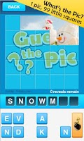 Screenshot of Guess The Pic-1 Pic 99 Squares