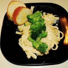 Freezer Chicken Broccoli Fettuccini
