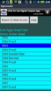 Coin Collecting - My US Coins - screenshot