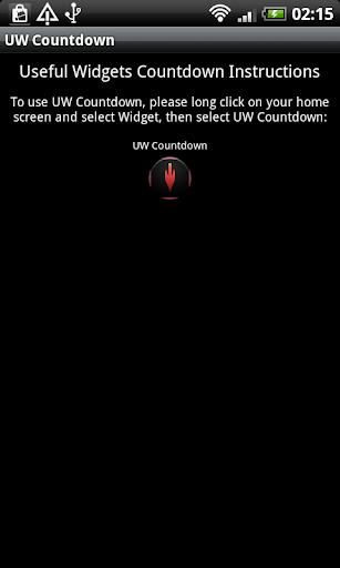 UW Countdown