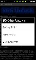 Screenshot of SGS Unlock PRO (NEEDS ROOT)