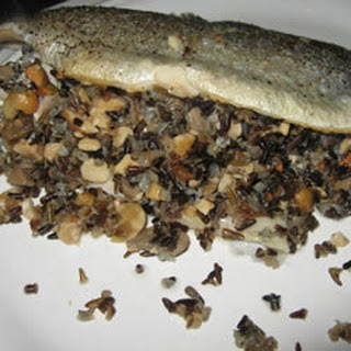 Wild Rice with Rosemary and Cashew Stuffing