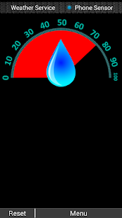 DS Hygrometer -Humidity Reader screenshot for Android