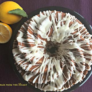 Epicurious Rhubarb Almond Cake
