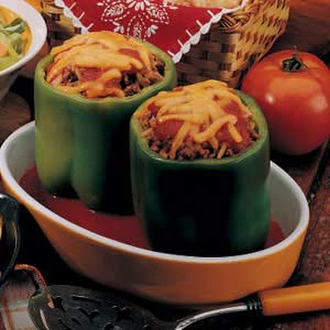 Stuffed Peppers for Two