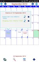 Screenshot of My Calendar Plus