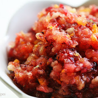 Cranberry Relish With Apples Recipes