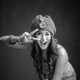 Smile! by Rino Gautama - People Portraits of Women