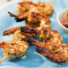 Explosive Thai Prawns with a hint of Wasabi