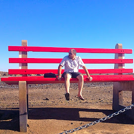 The big red bench by Natalie Woodhead - Artistic Objects Furniture (  )