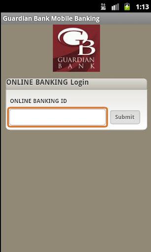 Guardian Bank Mobile Banking