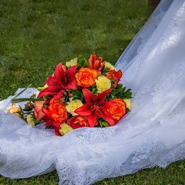 Bouquet Train by Keith Wagner - Wedding Other ( bouquet, wedding, flowers, flower )