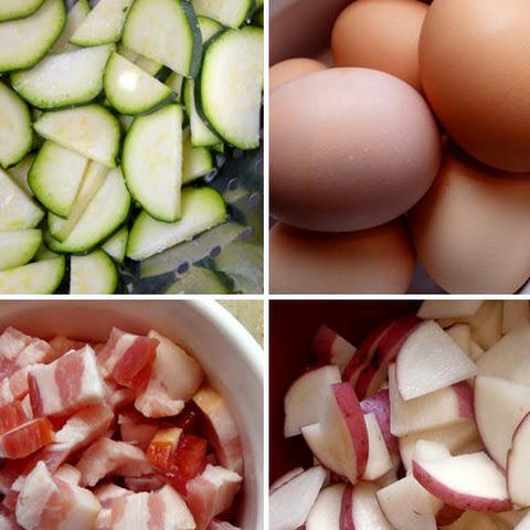 Zucchini-Potato Frittata