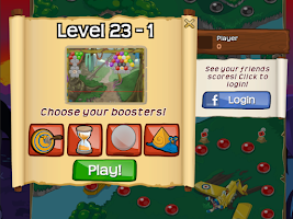 Screenshot of Bubble Raider