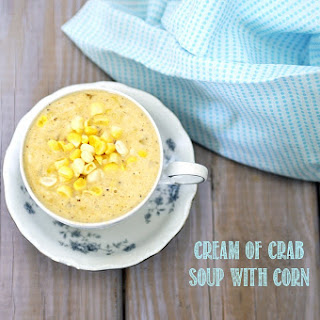Cream of Crab Soup with Corn