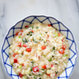 Summer Garden Risotto