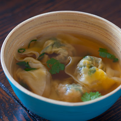 Pork and Spinach Wonton