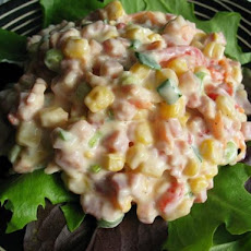 Ham and Corn Salad